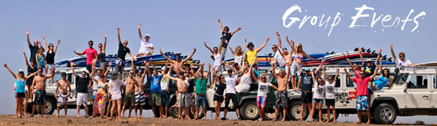 Quiksilver Surfschool Fuerteventura - Group Events